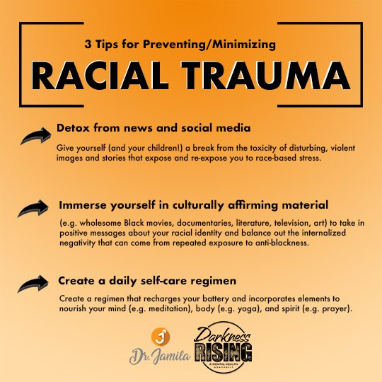 racial trauma graphic