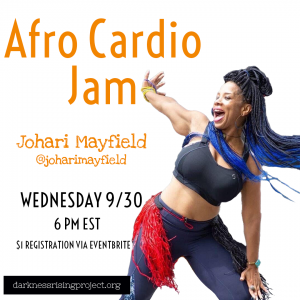 Afro Cardio Jam with Johari Mayfield