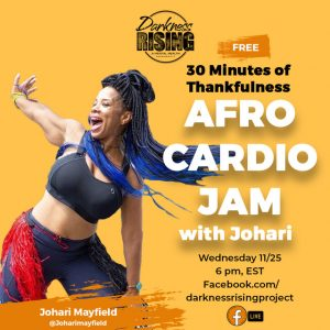 Afro Cardio Jam with Johari Mayfield